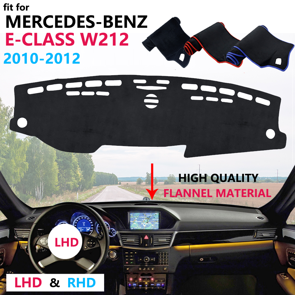 for Mercedes Benz E-Class W212 Dashboard Cover Protective Pad Carpet Anti-UV Car Accessories E-Klasse E200 E250 E300 <font><b>E220d</b></font> AMG image