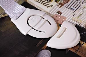 10 шт., пластиковые замки для дверей шкафов и туалета|Замки и блокираторы для ящиков|   | АлиЭкспресс