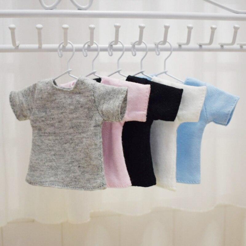 1 шт. кукольная футболка для 1/6 Blyth, Barbies, Azone, Licca, Momoko Кукла Одежда Аксессуары игрушка