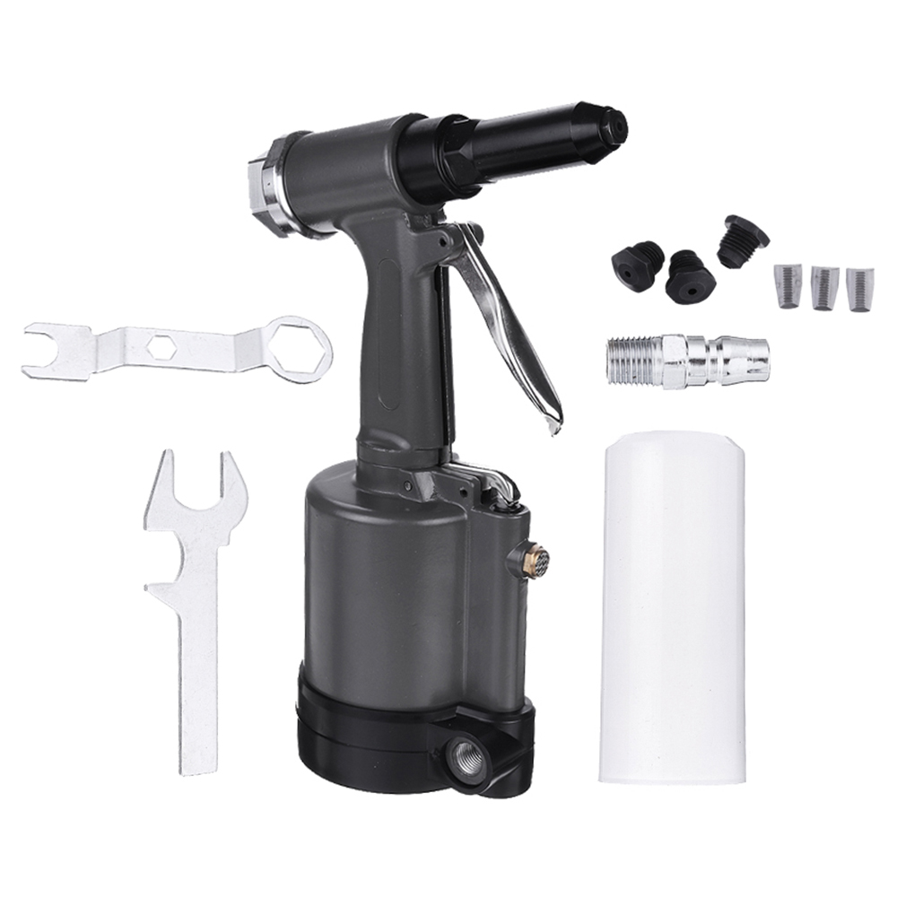 TR8500 Heavy Duty Pneumatic Air Riveter Riveting Tools 2.4mm 3.0mm 4.0mm 4.8mm Hand Rivet Tool Kit