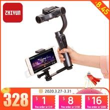 Zhiyun Smooth 4 uchwyt Gopro do smartfona kamera akcji wizjer do feiyu g6 g6 plus osmo pocket hohem isteady pro 2 Gimbal
