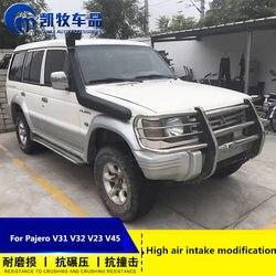 Dla Mitsubishi V31 Pajero V32 V23 V45 wysokiej brodzenia gardła dopływ powietrza zmodyfikowany dopływ powietrza s części