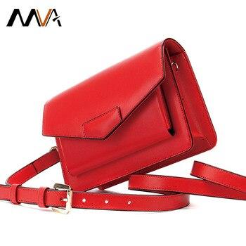 Genuine Leather Lady's Bag For Women Waterproof Crossbody Bag Fashion Retro Casual Women's Female Crossbody Shoulder Bags Woman