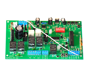 Image 2 - 12V Electronic card motherboard circuit board for Dual wing automatic swing gate opener motor 12VDC