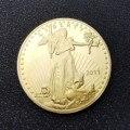 Соединенные Штаты Америки 2011 свобода 1 унция тонкое золото копия монеты двойной Орлан с девизом в Бог мы доверяем золотым монетам металл