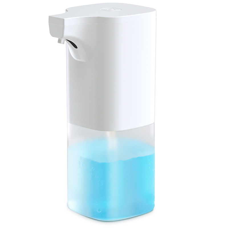 Soap Dispenser, Electric Automatic Foaming Soap Dispenser Touchless Battery Operated Adjustable Soap Dispenser Volume Control Sw