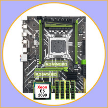 X79 m atxマザーボードデュアルM.2 runingてssdスロット割引X79 LGA2011 cpuとマザーボードxeon E5 2690 ram 32グラム (4*8グラム) recc
