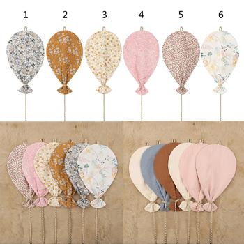 Pojedyncze nadruk boczny bawełna ściana z balonami dekoracje wiszące styl skandynawski dla dzieci pokój dekoracje balon dla dzieci pokój dziewczyn wystrój pokoju dziecięcego tanie i dobre opinie OOTDTY 25-36m 4-6y 7-12y 12 + y CN (pochodzenie) Pp bawełna 11 cm-30 cm