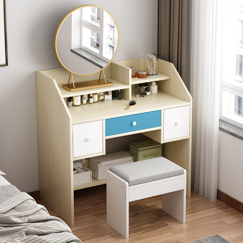 Simplicity Desk Desktop Computer Desk Table Household Province Space Table Minimalist Modern Bedroom Students Dormitory Writing