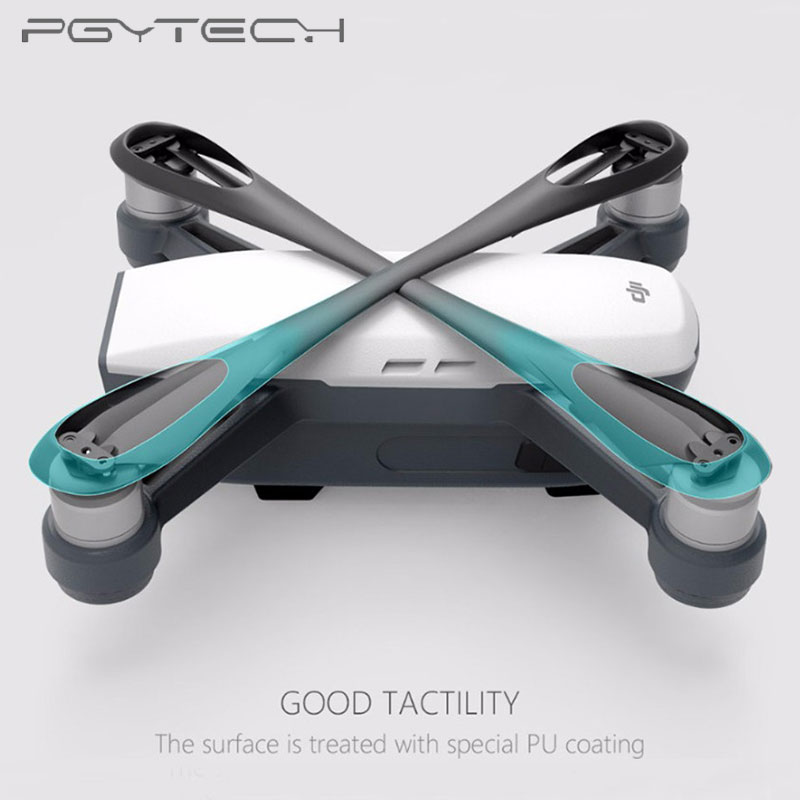 PGYTECH New Silicone Clip Propellers Motor Holder Fixed Protection Guard fixator for DJI Spark Drone Accessories in Prop Protector from Consumer Electronics
