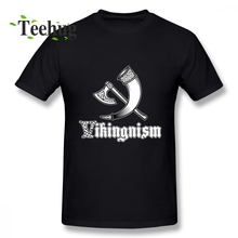 Graphic Vikingnism T shirt Vikings Tee Shirt For Unisex Leisure Unique Boy Pure Cotton Camiseta