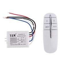 цена на 220V Wireless Digital Remote Control Switch ON/OFF Lamp Light Wall Remote Switch