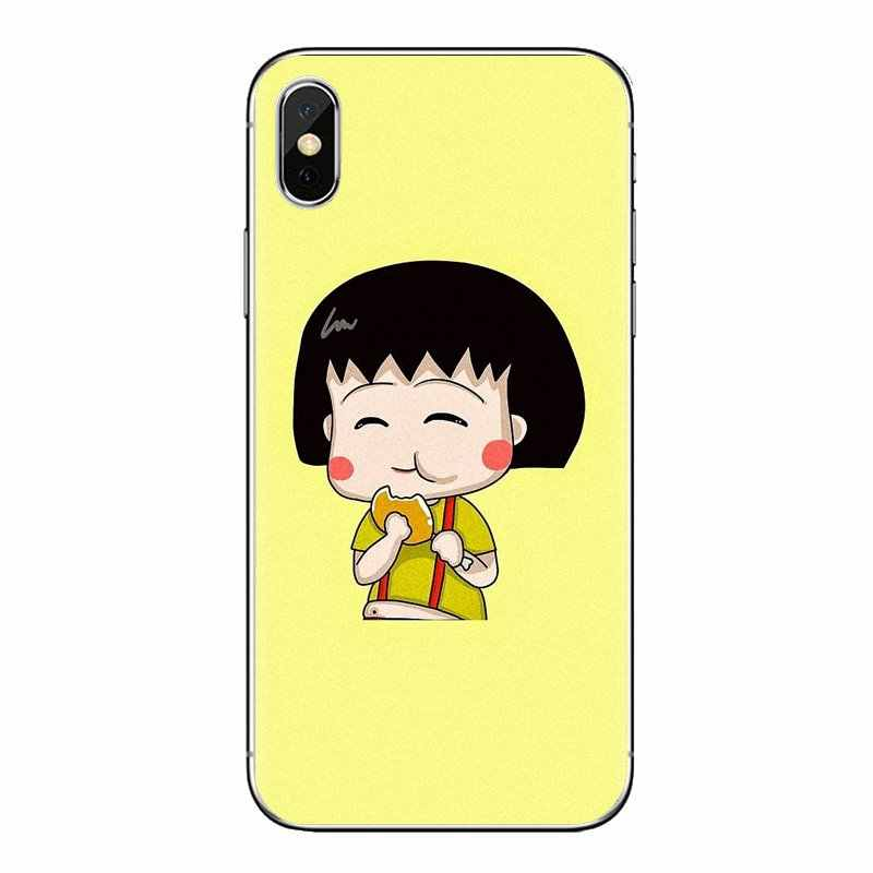 Chibi Maruko Chan Arte Per Huawei P Smart Y6 P8 P9 P10 Più Nova P20 Lite Pro Mini 2017 SLA-L02 SLA-L22 2i Trasparente Morbido Custodie