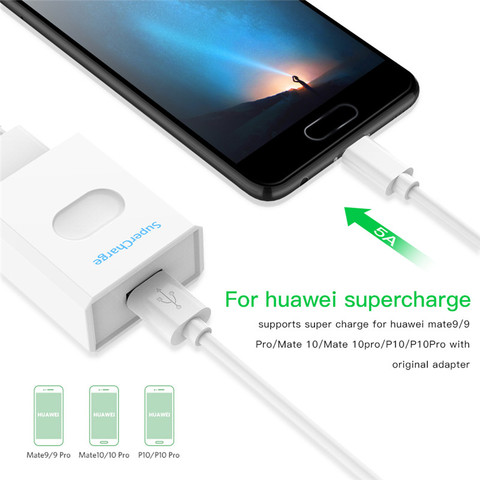 USB C 3.1 5A Type C Data Cable for Huawei Mate 9 10 P10 P20 P30 Pro Type-C 1m Fast Charging Charger for Nova 5 USB-C Supercharge Karachi