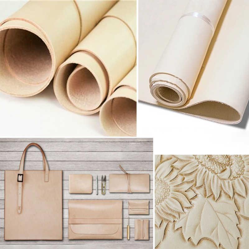 DIY el sanatları inek derisi deri kumaş cüzdan bagaj çantası oyma malzeme aracı parçası