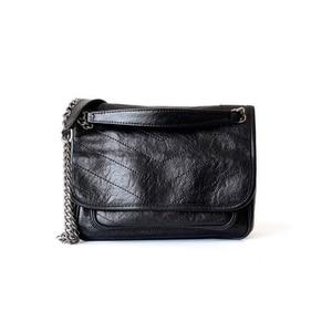 Image 3 - Hakiki gerçek deri inek derisi çanta kadın moda Y bayanlar için popüler 2019 çok kullanımlı omuzdan askili çanta