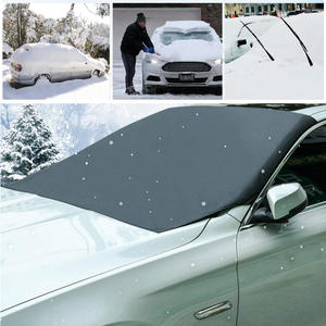 Windshield Sunshade Cover Car-Sun-Protector Snow Universal Magnetic Autos Anti-Frost