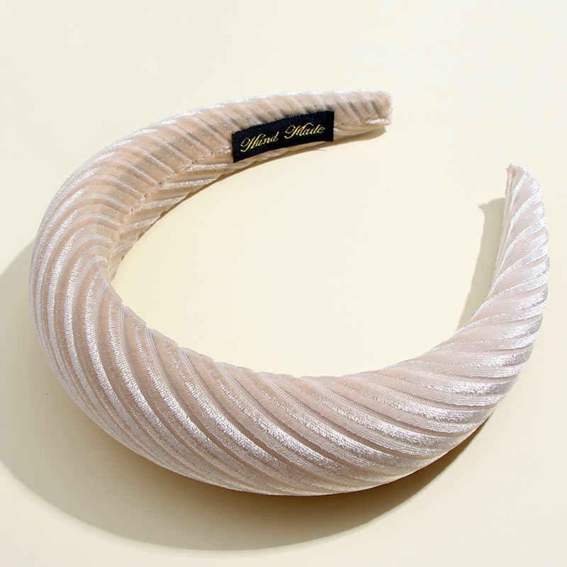 Flatfoosie mode bandeaux de velours faits à la main pour les femmes filles bandeaux de haute qualité chapeaux filles accessoires de cheveux
