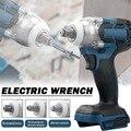 Электрический ударный гайковерт, бесщеточный Аккумуляторный гаечный ключ 1/2 дюйма, электроинструменты для электрической отвертки с батаре...