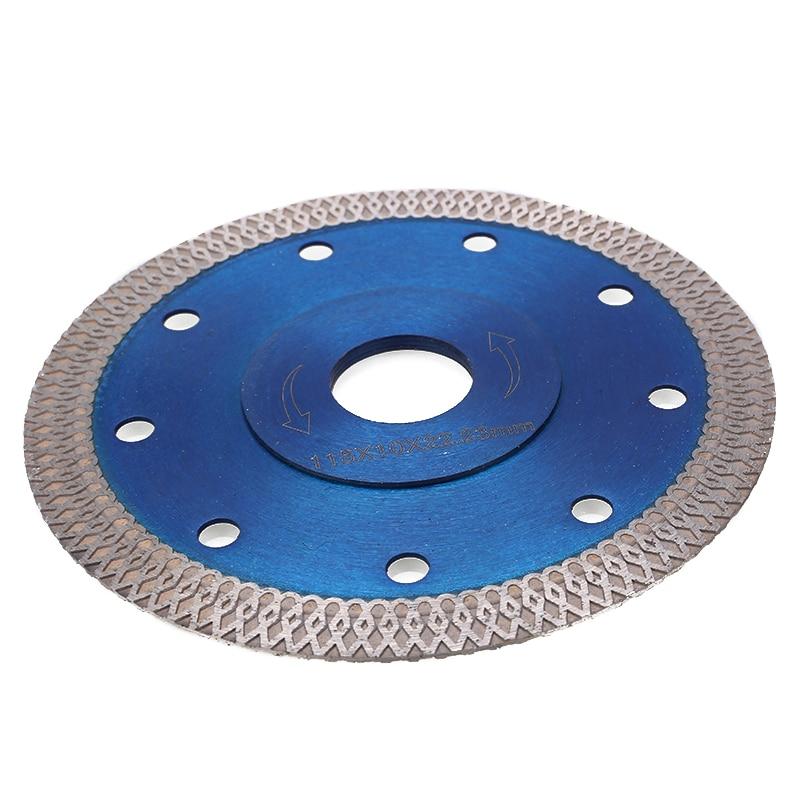 1Pc Diamond Cutting Disc Turbo Cutting Blades115mm Porcelain Tile Thin Diamond Dry Cutter Blade For Grinder Wheel