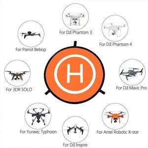 Image 2 - PGYTECH przenośny 110cm podkładka do lądowania Drone mata lądowisko dla Mavic powietrza 2/Mavic Pro/ Mavic 2/Mavic Mini, do DJI Phantom 3 /4