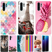 Coque For Huawei P30 Lite Case Silicon Capa Phone Pro Transparent Funda P 30 Cover