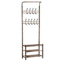 Coat rack, shoe rack, combination living room, floor, coat rack, iron art, coat rack, bedroom, porch, shoe cabinet, handbag