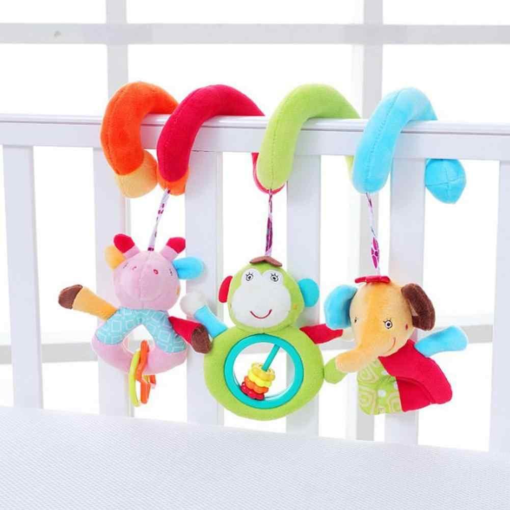 ของเล่นเด็กทารกแรกเกิดปริศนา Plush Boy Girl Bed Bell Trailer แขวนเปลตกแต่ง