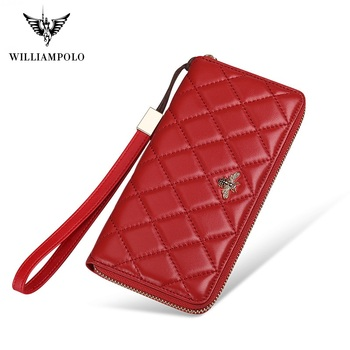 WilliamPolo Women Wallets with Zipper Phone Pocket Purse Card Holder Patchwork Women Long Wallet Lady Tassel Short Coin Purse new arrival cartoon wallets with zipper coin pocket attack on titan dragon ball adventure time short wallet with card holder
