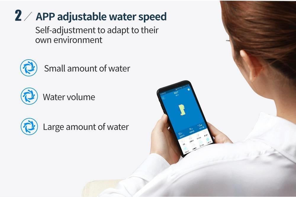 H893d34f76b6044729289b3d478eaf8c0H Proscenic 800T Robot Vacuum Cleaner Automatic Sweeping Dust Mopping Mobile App Remote Control Planned Robotic