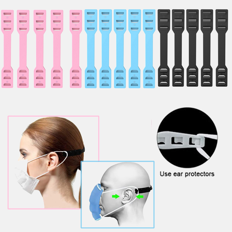 3Pcs Mask Buckle Ear Protection Mask Hook Ear Protection Universal Mask Hook Disposable Mask Artifact Anti Lock Mask Accessories