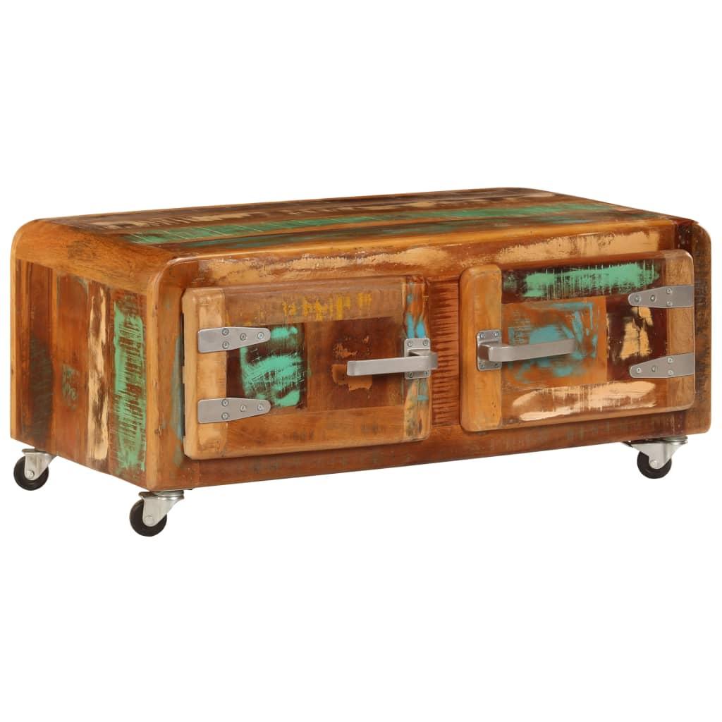 VidaXL Coffee Table 85x55x40 Cm Solid Reclaimed Wood