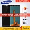 A750F LCD Originale Super AMOLED Per Samsung Galaxy A7 2018 A750 SM A750F A750G Display LCD di Tocco Digitale Dello Schermo di Ricambio-in Schermi LCD per cellulare da Cellulari e telecomunicazioni su