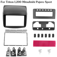Fascia Triton L200 Mitsubishi Face-Frame Dash-Mounting-Kit Stereo-Panel Radio Refitting
