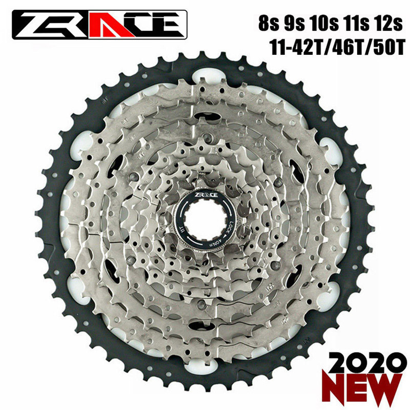ZRACE Bicycle Cassettes 9S 10S 11S MTB Bike Freewheel <font><b>42T</b></font> / 46T / 50T for ALIVIO / DEORE for SLX 10 <font><b>11</b></font> Speed Flywheel image