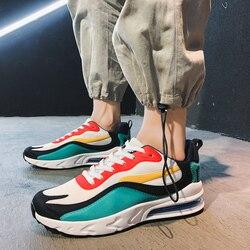 Buty męskie trampki buty do biegania dla mężczyzn 270 buty sportowe dla dorosłych Outdoor Zapatos De Mujer męskie buty marki Off białe trampki