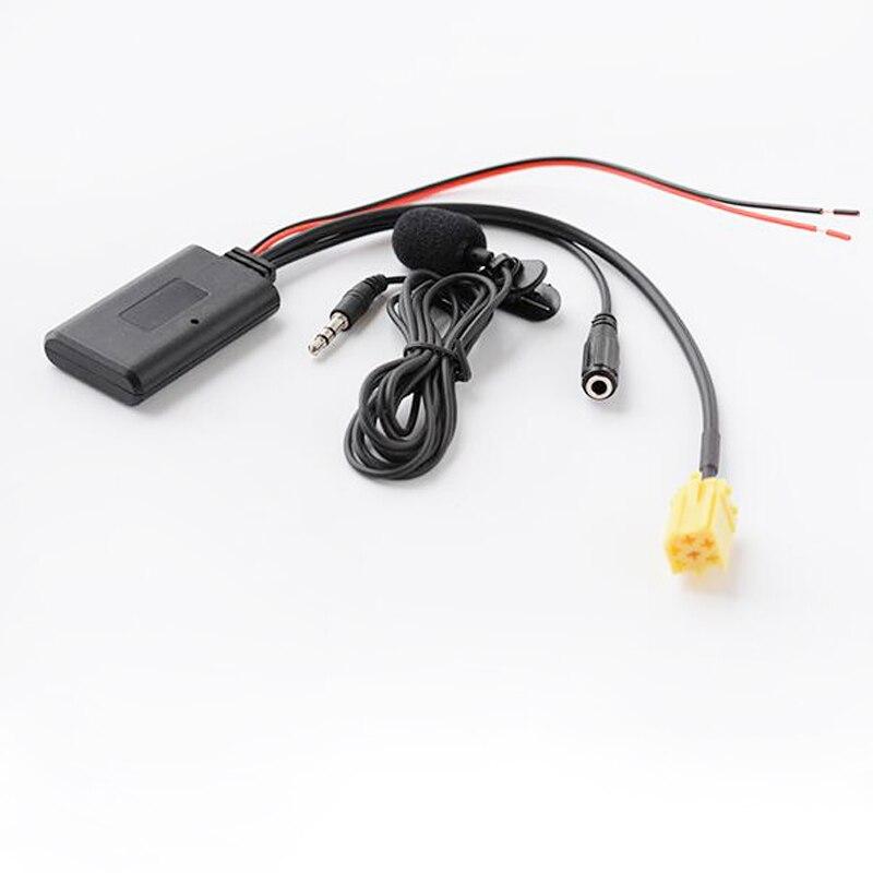 Автомобильный микрофон Biurlink, свободные руки, радио, Aux вход, адаптер, стерео, Bluetooth Auxliary аудио кабель для Alfa Romeo Fiat Lancia