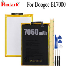 Mcdark doogee BL7000バッテリー交換高品質大容量7060 3300mahバックアップbateria doogee BL7000スマート電話