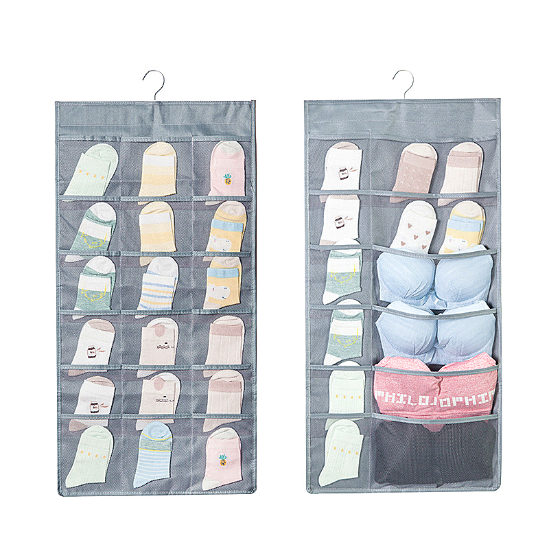 Wardrobe Underwear Bar Socks Storage Bag Hanging Wall Dormitory Artifact Fabric