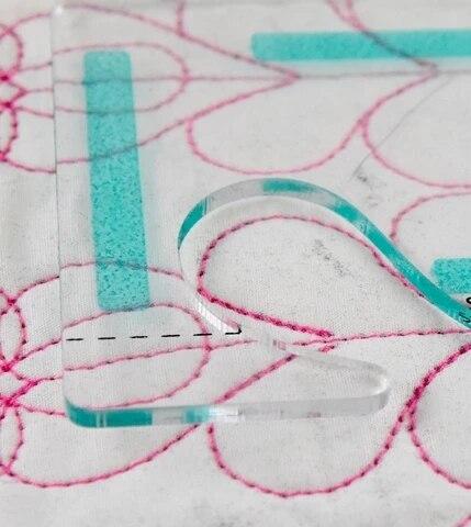 Movimento libero Quilting Essentials Modello di macchina da cucire quilting righello quilting modello patchwork righello quilter delle righello 5