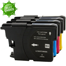 GraceMate – cartouche d'encre LC 985, LC975, LC67, LC1100, LC980, LC985, Compatible avec Brother J515W