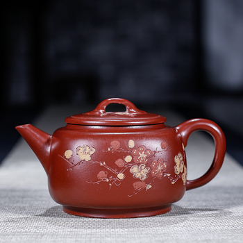 Yixing authentic manual recommended undressed ore dahongpao mixed sifang xu mei pot of tea