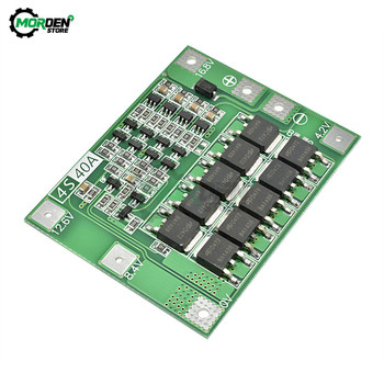 4S 40A Li-Ion Lithium Lipo Zelle Modul Batterie 18650 Ladegerät PCB BMS Schutz Mit Balance Board Für Bohrer Motor