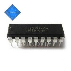 5pcs/lot LM3914N-1 LM3915N-1 LM3916N-1 LM3914N LM3915N LM3916 DIP In Stock