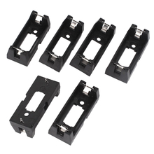6 pieces Open Frame Dry Cell Battery holder 2 Needles for 1 x 3 V CR123A