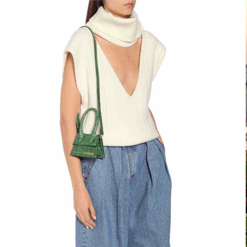 Jacquemus femmes sac à main célèbre marque femmes sacs à main de luxe pour les femmes sacs à bandoulière pour les femmes 2019 sacs de messager petit sac fourre-tout