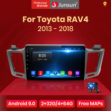 Junsun 2G+32G Android 9.0 4G Car Radio Multimedia WiFi Navigation GPS For Toyota RAV4 2013 2014 2015 2016 2017 2018 2 Din(China)