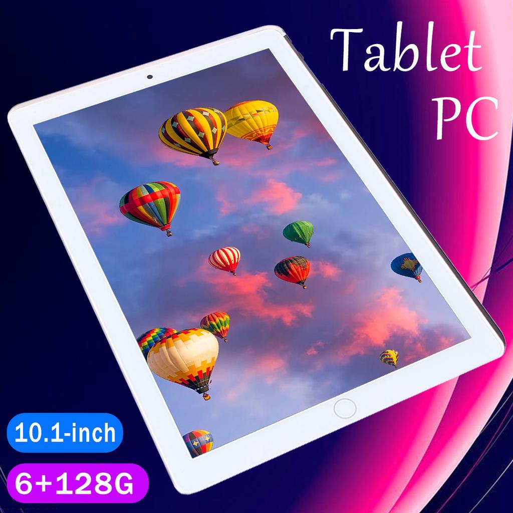 10.1 Inch Android 9.0 Tablet Pc 1280 X800 IPS Screen Ten Core Tablet 6G RAM +128GB ROM 4G Dual Sim Card Phone  Kids Tablet