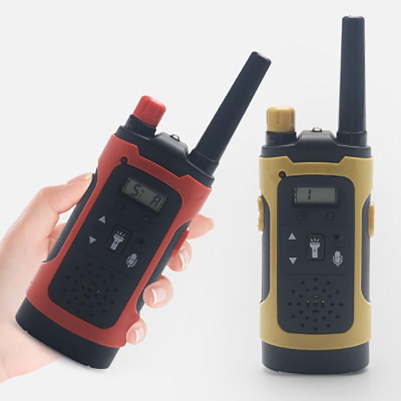 Mini Wireless Children's Walkie-Talkie Toy Kids Portable Electronic Toys Outdoor Handheld Two-way Long Range Interphone