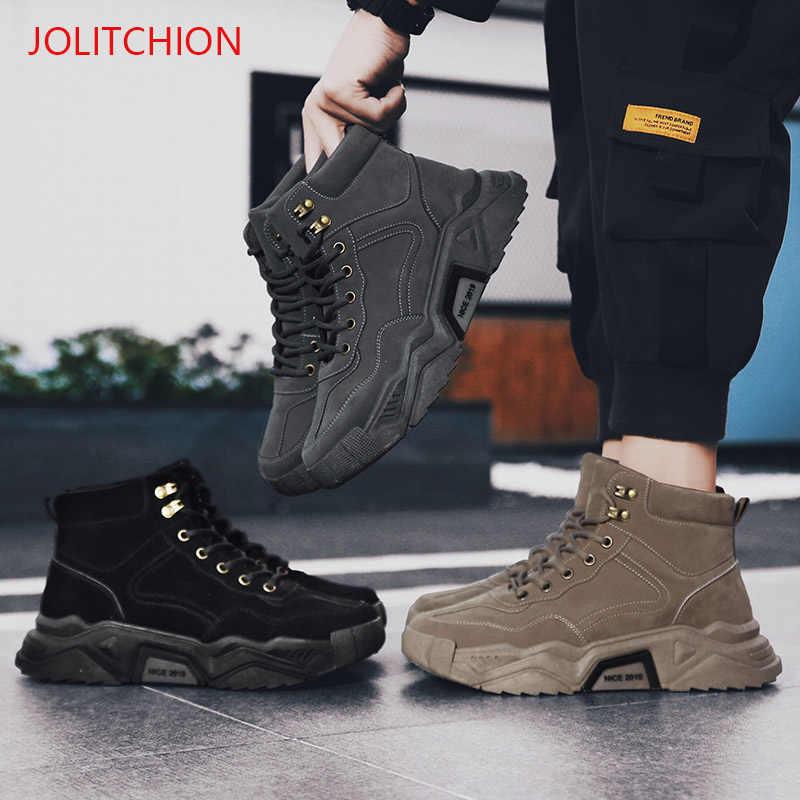 חדש חורף סניקרס אופנה גברים נעליים יומיומיות למבוגרים חיצוני מעצב איש Mocassin Homme מותג ספורט נעלי Zapatos Hombre
